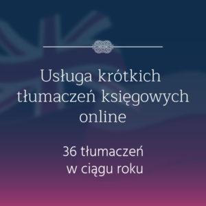 tłumaczenia księgowe angielko-polskie polsko-angielskie